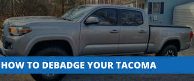 Debadging - How To Remove Your Tacoma Emblems Fast & Easy