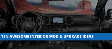10 Awesome Toyota Tacoma Interior Mod & Upgrade Ideas