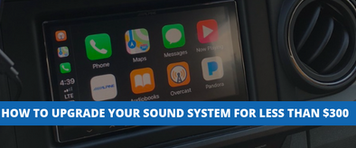 How To Upgrade Your Toyota Tacoma Sound System For Less Than
