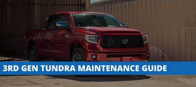3rd Generation Toyota Tundra DIY Maintenance Reference Guide