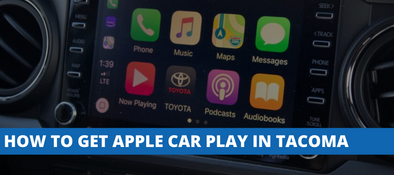 Toyota Tacoma Apple CarPlay Integration For 2016-2019 Models