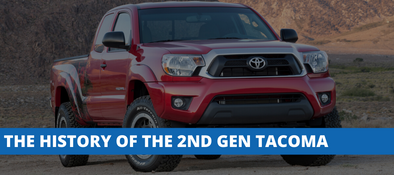 The History of The 2nd Generation Toyota Tacoma