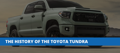 The History of The Toyota Tundra