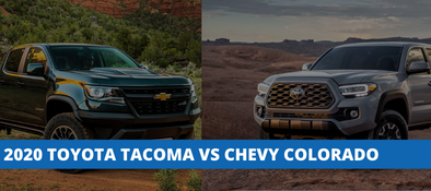 2020 Toyota Tacoma vs Chevy Colorado - How Do They Compare?