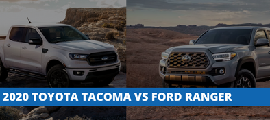2020 Toyota Tacoma vs Ford Ranger - How Do They Compare?