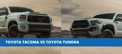 What's The Difference Between The Toyota Tacoma & Toyota Tundra?