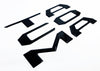 2016 - 2020 Toyota Tacoma Domed / Raised 3D Tailgate Letter Inserts