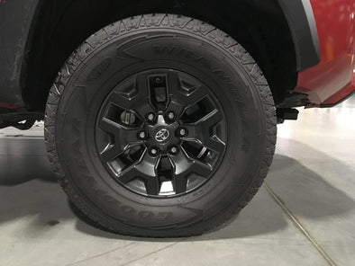 2016 - 2019 Toyota Tacoma Off Road Wheel Decals (Blackout Kit)