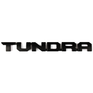Black Toyota Tundra Door Emblem/Badge