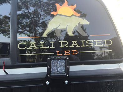 Toyota Truck Bed Rail LED Pod Mounting Brackets - Cali Raised LED
