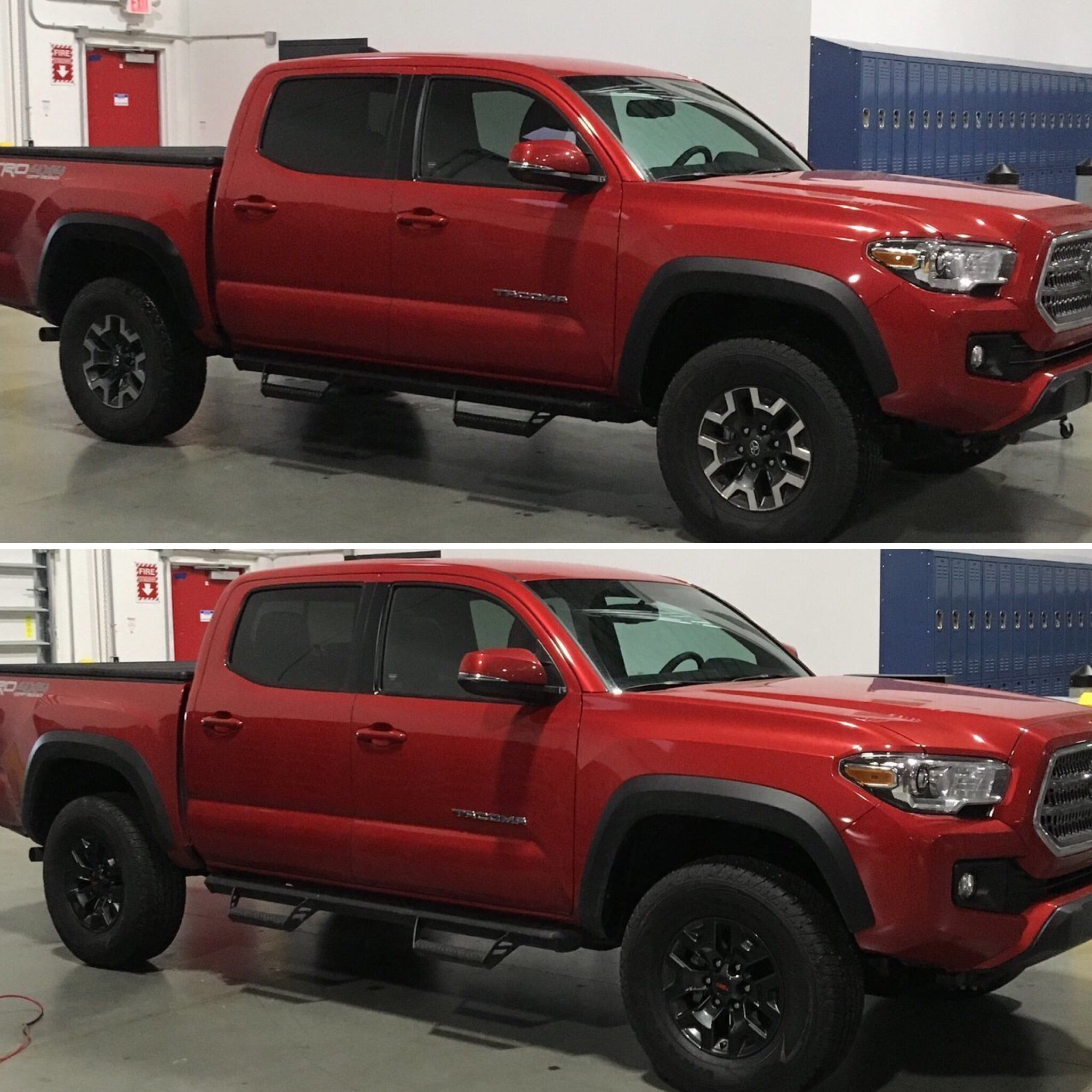 2019 Toyota Tacoma Off Road Wheel Decals (Blackout