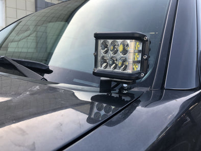 05-2015 Toyota Tacoma Low Profile Ditch Light Brackets - Cali Raised LED