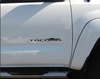 Toyota Tacoma Door Emblem Replacement Vinyl Decals