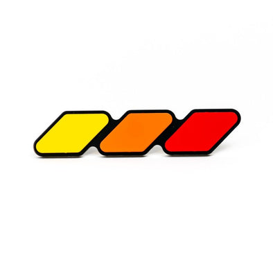 Toyota Tri-Color TRD Pro Grille Badge Emblem