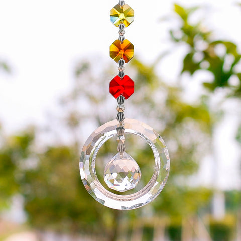 Fengshui Crystal Window  Suncatcher