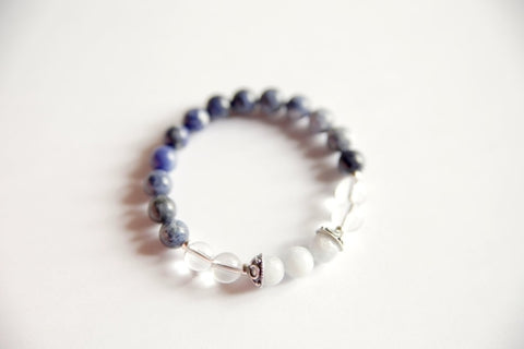 Image of The Third Eye Chakra - Genuine Sodalite, Crystal