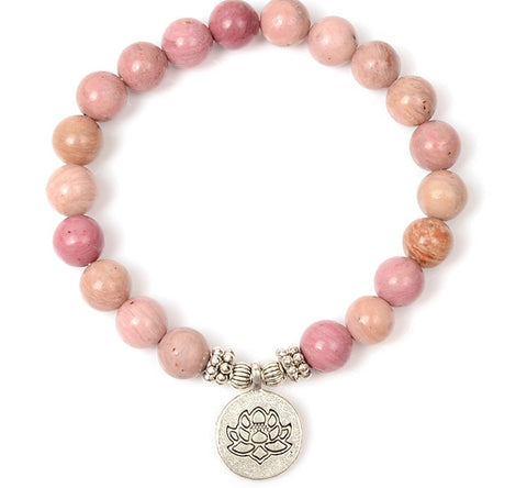 Image of Rhodonite Mala Bracelet