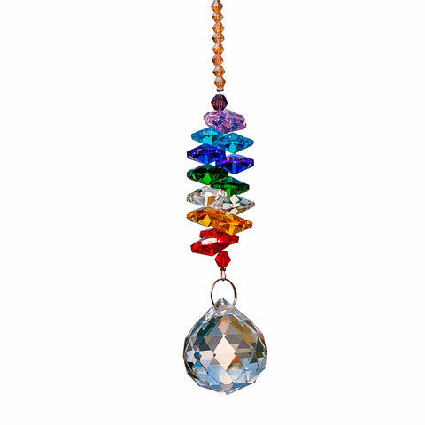 Image of Rainbow Crystal Suncatcher