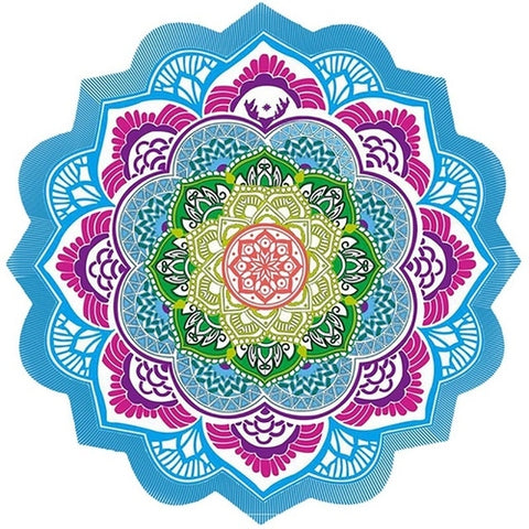 Image of Beautiful Mandala Beach Towel/Blanket