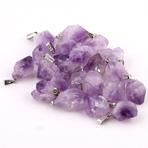 Image of Amethyst Stone Pendants