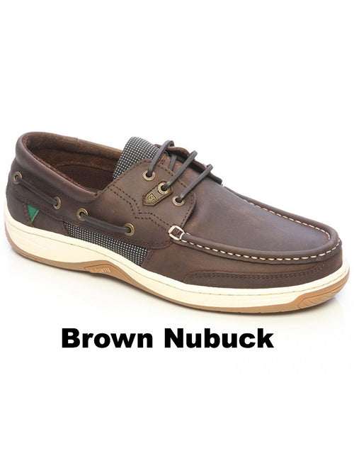 Dubarry Regatta Men 3 eye boat shoe