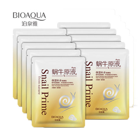 Snail Prime Mask - Snail Face Cream Mask
