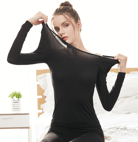Winter Seamless Thermal Innerwear Set