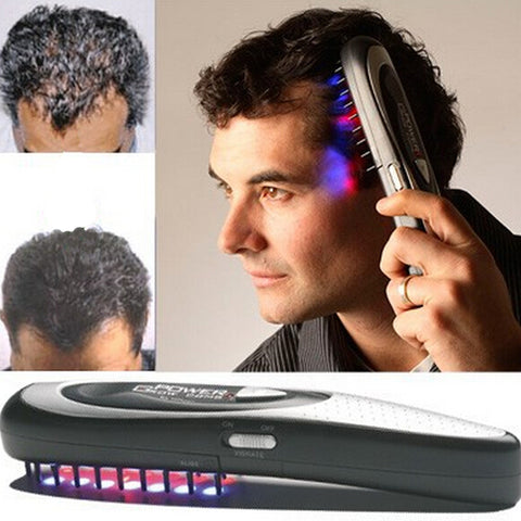Laser Hair Growth Comb - Electric Hair Stimulation Comb