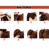 Curly Ponytail Extension - Synthetic Hair Extension