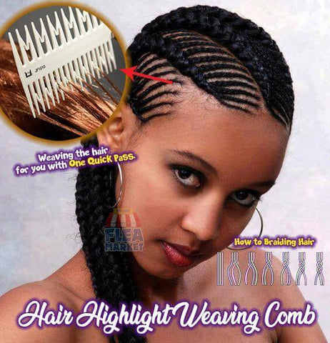 Highlight Weaving Comb - For Fine Highlights