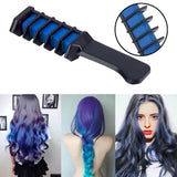 Professional Hair Chalk Comb - Temporary Hair Dye Color
