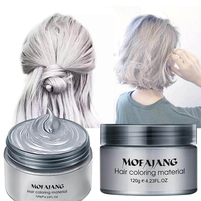 washable hair dye mofajang hair wax hair dye temporary hair color makemeb 31752