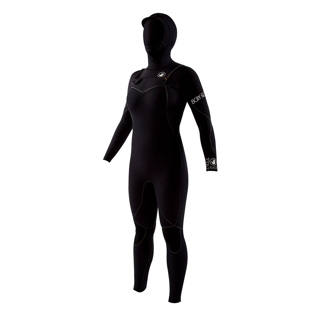 Body Glove Wetsuit 5/4/3 Topaz Hooded Front Zip
