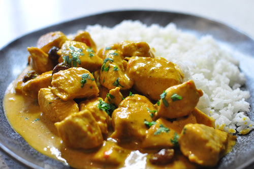 Creamy Mango Chutney Chicken Curry
