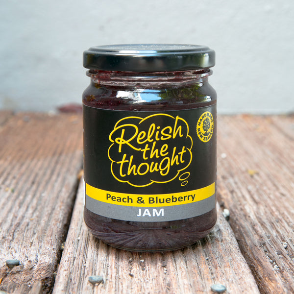 Peach & Blueberry Jam
