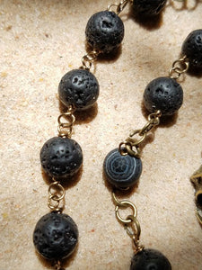 Pagan Prayer Beads, Meditation Beads, Witches Ladder, Witches Rosary, Pagan Rosary, numerology