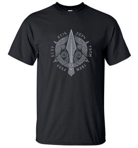 Viking Berserker Men's 100% Cotton Men T-Shirt