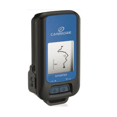 Canmore GP-102+ G-PORTER GPS Data Logger (Barometer; Altimeter; Digital Compass; Geotag photo; Weather Station; Pedometer; Travel logger; Gradienter; Find Wayback feature; SiRF 4 GPS chipset, IPX 6 WaterProof)