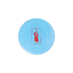 Alfred's Apartment - Postcard Frisbee - Blue