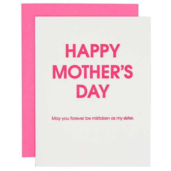 Mother's Day Mistaken Sister Card