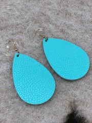 Large Teardrop Earrings - The Teal Antler Boutique