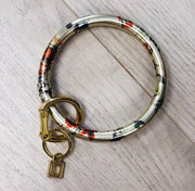 Big O Keyring Leather - The Teal Antler Boutique