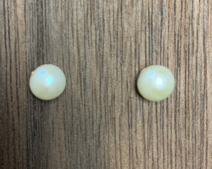 Pearl Earings - The Teal Antler Boutique