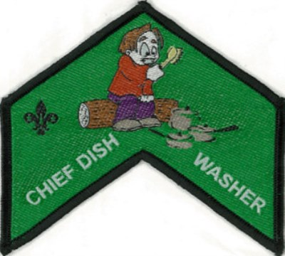 BLANKET PATCH - CHIEF DISHWASHER
