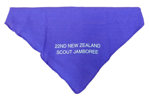 22ND NZ SCOUT JAMBOREE - SCARF