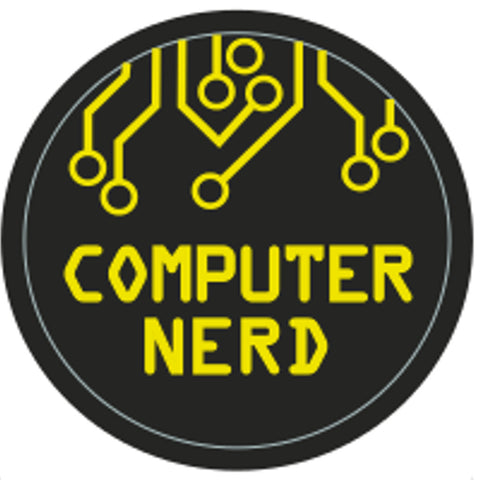 BLANKET PATCH - COMPUTER NERD