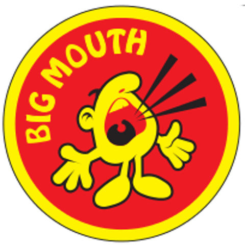 BLANKET PATCH - BIG MOUTH