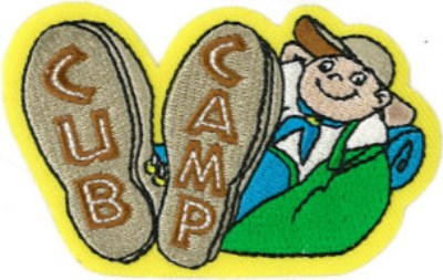 BLANKET PATCH - CUB CAMP
