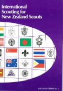 BOOK - INTERNATIONAL SCOUTING FOR NEW ZEALAND SCOUTS