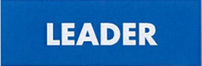 LEADER BADGE